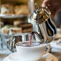 photo of afternoon tea at hotel deluxe restaurant