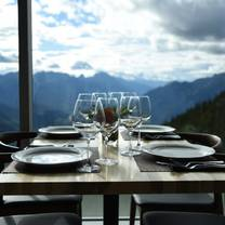 photo of sky bistro, mountain top dining @ banff gondola restaurant