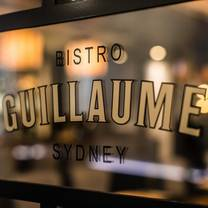 photo of bistro guillaume - sydney restaurant