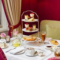 photo of afternoon tea at the capital hotel restaurant
