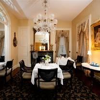 photo of restaurant 1818 at monmouth historic inn & gardens restaurant