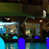 photo of harry's poolside bar & grill at rosen centre restaurant
