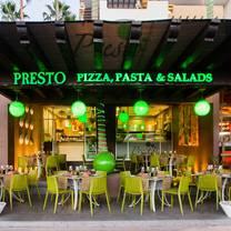 foto de restaurante presto - hotel marina fiesta resort & spa