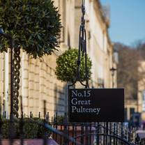 photo of no.15 great pulteney – the dispensary restaurant