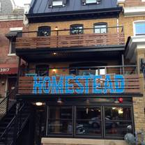 photo of homestead dc restaurant