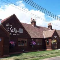 photo of three lakes restaurant restaurant