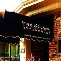 photo of five o'clock steakhouse restaurant