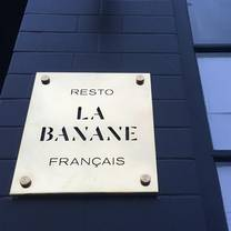 photo of la banane restaurant