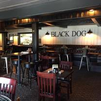 photo of black dog bar & grille restaurant