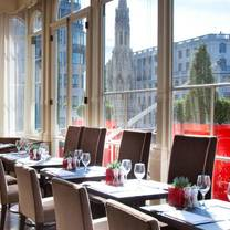 photo of the terrace restaurant at the amba hotel restaurant