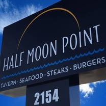 photo of half moon point restaurant