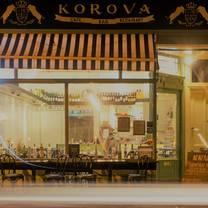 photo of korova restaurant restaurant