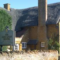 photo of the red lion (east haddon) restaurant