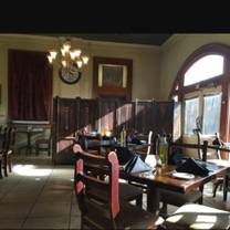 photo of rails...a cafe at the depot restaurant