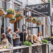 photo of theory chicago restaurant