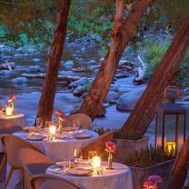 photo of cress on oak creek at l'auberge de sedona restaurant