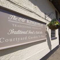 photo of the old kings head restaurant