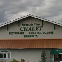 photo of mountain view chalet restaurant