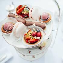 photo of afternoon tea at lucknam park restaurant