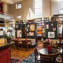 photo of swans bar at maison assouline restaurant