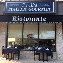 photo of cordi's italian gourmet restaurant