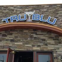 photo of tru blu social club restaurant