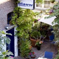 photo of blauw aan de wal restaurant