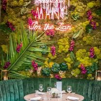 photo of menagerie restaurant restaurant