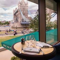 photo of the ivy tower bridge restaurant