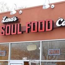 photo of lena's soul food restaurant