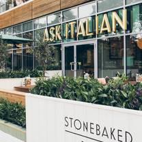 photo of ask italian bournemouth restaurant