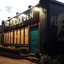 foto von the peacock den restaurant
