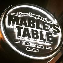 photo of mable's table restaurant