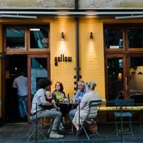 photo of yellow restaurant