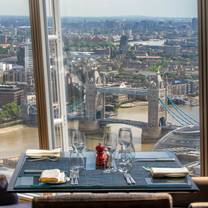 photo of ting restaurant, shangri-la at the shard restaurant
