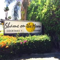 photo of shame on the moon restaurant