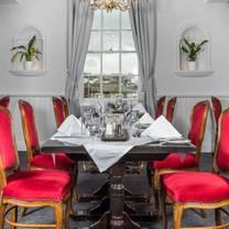 photo of tennyson's restaurant at the falcon hotel restaurant