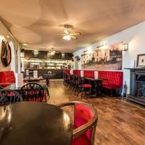 photo of coachman's bar at the falcon hotel restaurant