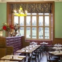 photo of the brasserie at eynsham hall restaurant