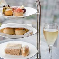 photo of afternoon tea at gong, shangri-la at the shard restaurant