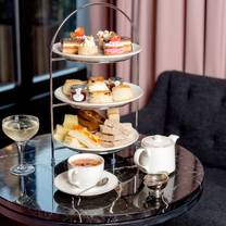 photo of afternoon tea at the grafton hotel, warren street restaurant