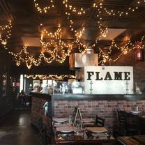 photo of flame pizzeria restaurant
