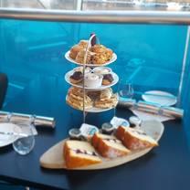 photo of afternoon tea at sage gateshead restaurant
