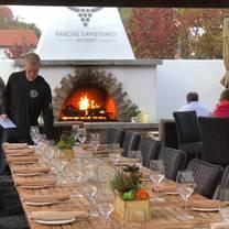 photo of rancho capistrano winery restaurant