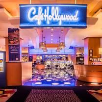 photo of cafe hollywood las vegas restaurant
