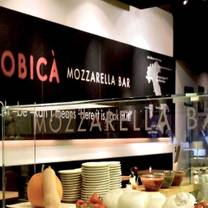 photo of obica mozzarella bar, pizza e cucina - century city restaurant