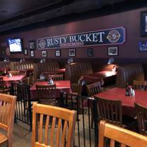 photo of rusty bucket - 86th & ditch restaurant