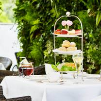 photo of afternoon tea at the montague on the gardens restaurant
