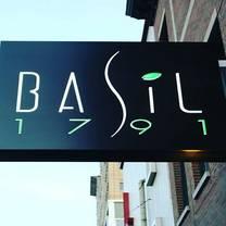 photo of basil 1791 restaurant