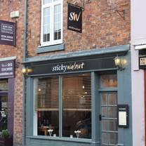 photo of sticky walnut restaurant